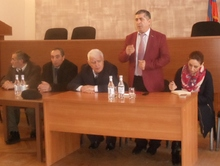 Հայաստանի ազգային ագրարային համալսարանի մասնագետները հանդիպեցին Վայոց ձորի մարզի ֆերմերիների և  գյուղացիական տնտեսությունների ներկայացուցիչների հետ