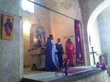 Սուրբ  թարգմանիչ Վարդապետների տոնի առիթով Սուրբ և Անմահ Պատարագ մատուցվեց Խաչիկում