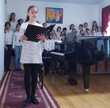 1988 թվականի երկրաշարժի զոհերի հիշատակին նվիրված ցերեկույթ՝ Եղեգնաձորի երաժշտական դպրոցում