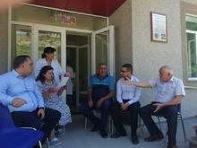 ՀՀ Վայոց ձորի մարզպետի տեղակալ Ռազմիկ Տոնոյանն այցելեց Շատին համայքնի <Հռիփսիմե> գյուղական բժշկական ամբուլատորիա