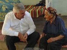 Մարզի ղեկավարն այցելեց Արենի համայնքի 92 ամյա բնակիչ Աղավնիկ Վարդանյանին
