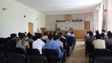 Հանդիպում Հայոց բանակից զորացրված վայոցձորցի երիտասարդների հետ
