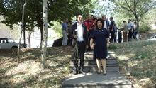 ՀՀ Ակախության օրը հարգանքի տուրք մատուցվեց Արցախյան ազատամարտում զոհված վայոցձորիցիների հիշատակին