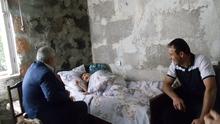 Տարեցների միջազգային օրվա կապակցությամբ ՀՀ Վայոց ձորի մարզպետ Արագած Սաղաթելյանն այցելել է  մարզի  113-ամյա բնակիչ Սիրուշ Մարգարյանին