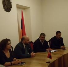 Վայոց ձորի նորանշանակ մարզպետ Տրդատ Սարգսյանը հանդիպեց գործակարգավարական խորհրդակցության անդամների հետ