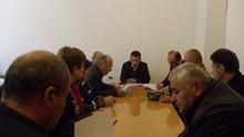 ՀՀ Վայոց ձորի մարզպետի տեղակալ Ռազմիկ Տոնոյանի մոտ կայացավ մշտական գործող հանձնաժողովի նիստը