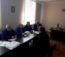 Մարզպետ Տրդատ Սարգսյանը քաղաքացիների հերթական ընդունելությունը կատարեց Զառիթափ համայնքում