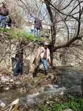 Մարզպետի տեղակալ Ռազմիկ Տոնոյանը մասնակցել է Եղեգնաձորի քաղաքի Սրկողունք գետակի ափամերձ տարածքի մաքրման աշխատանքներին
