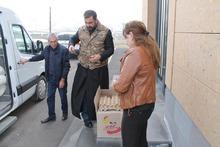 Վայոց ձորի մարզի 4 և ավելի անչափահաս երեխաներ ունեցող կարիքավոր 152 ընտանիքների տրամադրվեց սննդամթերքի փաթեթներ