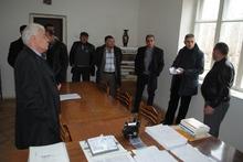 Մարզպետն այցելել է  Վերնաշեն, Գլաձոր և Ագարակաձոր համայնքներ