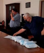 ՀՀ-ում Ղազախստանի հյուպատոսությունը ՀՀ  Վայոց ձորի մարզին  բժշկական դիմակներ է տրամադրել
