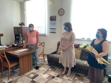 Բուժաշխատողի  մասնագիտական տոնի առիթով ՀՀ Վայոց ձորի մարզպետ Արարատ Գրիգորյանն այցելեց Եղեգնաձորի  բժշկական կենրտոն և ՀՎԿԱԿ Վայոց ձորի մասնաճյուղ