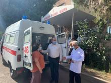 ՀՀ կառավարությունը  ՈւԱԶ ամենագնաց մեքենա է տրամադրել Եղեգնաձորի բժշկական կենտրոնին