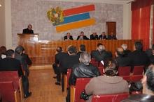 Տեղի ունեցավ ՀՀ Վայոց ձորի մարզխորհրդի 2013 թվականի թիվ 1 նիստը
