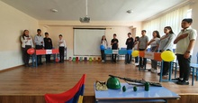 Ռազմագիտությանը նվիրված խաղ-մրցույթ Բարձրունու միջնակարգ դպրոցում