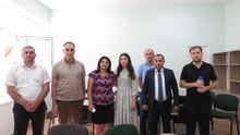 Հանդիպում <Դոմ Մոսկվի> մոսկովյան մշակութագործարարական կենտրոնի գլխավոր տնօրենի և Հայաստանում Ղազախստանի Հանրապետության պատվավոր հյուպատոսի հետ