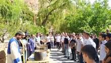 Մատաղի արարողակարգ  Հայոց բանակից զորացրված վայոցձորցիների համար